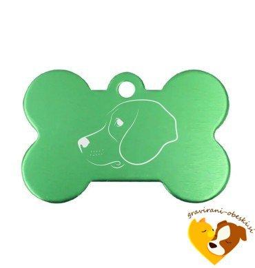 Angleški pointer (Poenter) - obesek za psa