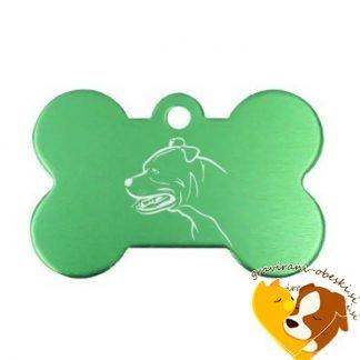 Argentinska Doga (Dogo Argentino) - obesek za psa