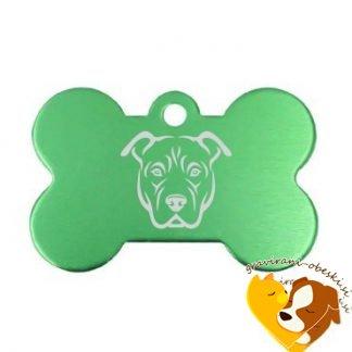 Ameriški pit bull terier - obesek za psa